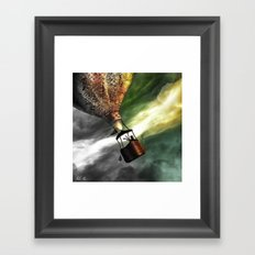Child of the air Framed Art Print