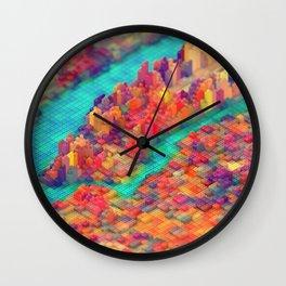 Lego New York Wall Clock