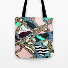 ELECTRIC VIBES Tote Bag