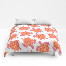 Sea Turtle – Melon Palette Comforters