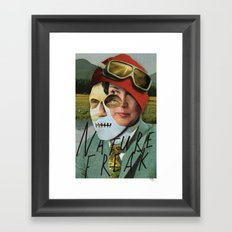 Nature Freak Framed Art Print