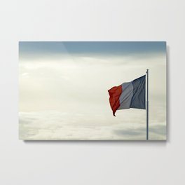 France in the sky Metal Print