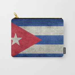 Flag of Cuba - vintage retro version Carry-All Pouch