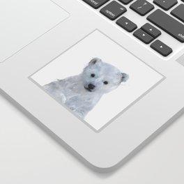 Little Polar Bear Sticker