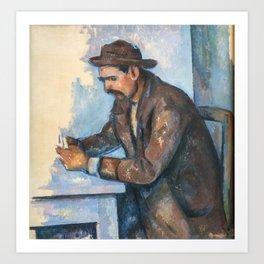 Paul Cezanne - The Cardplayer Art Print