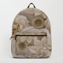 Paper Bouquet Backpack