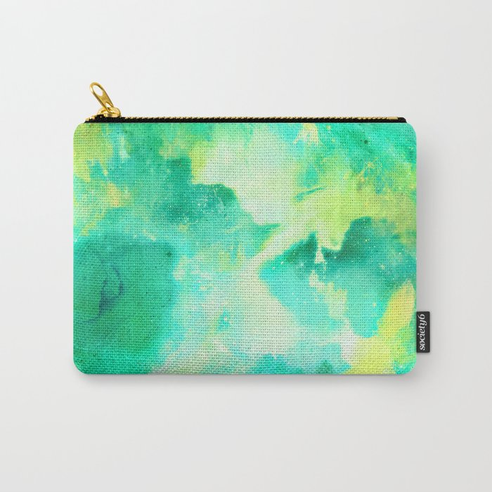 Gold & Jade Carry-All Pouch