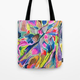 Fluorite Thin Section Watercolor Tote Bag