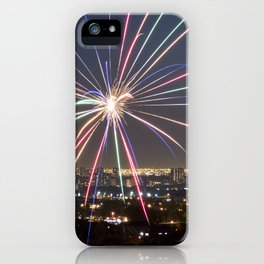 Fireworks. iPhone Case