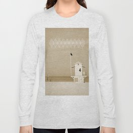 Lifeguard tower Long Sleeve T-shirt