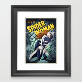 Kiss of the Spider Woman Framed Art Print