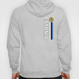 Estonia National Sports Jersey Style Hoody