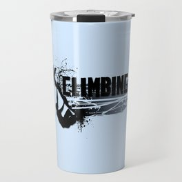 Rock Climbing - Male Travel Mug