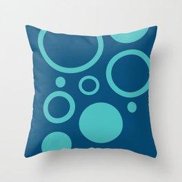 Bubbles, bubbles everywhere Throw Pillow