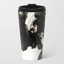 Ink #abstract #black Travel Mug