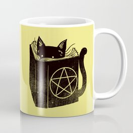 Witchcraft Cat Coffee Mug