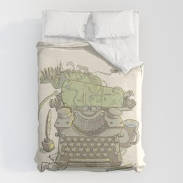 A Certain Type of City Duvet Cover
