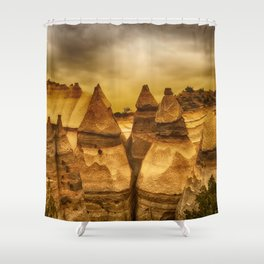 Kasha 3 Shower Curtain