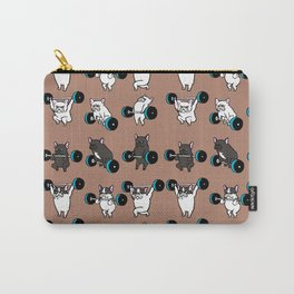 OLYMPIC LIFTING  FRENCH BULLDOG Carry-All Pouch