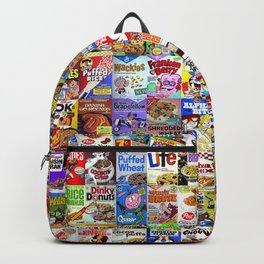 Cereal Box Montage Backpack