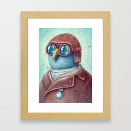 Pilot Captain Ivan Twittor Framed Art Print