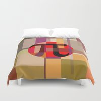 pi Duvet Covers featuring Geometric Pi  by Vi Sion