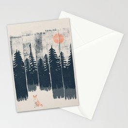 A Fox in the Wild... Stationery Cards
