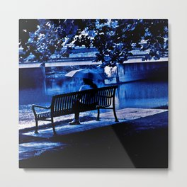 A Blue Morning Metal Print