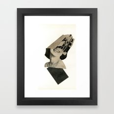 New Geometry Framed Art Print