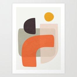 Abstract Modern Art 17 Art Print