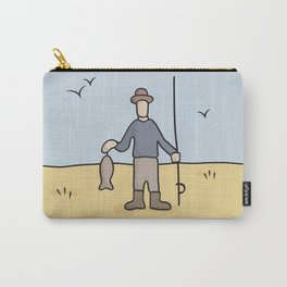Beavid and Butthead Fisherman picture Carry-All Pouch