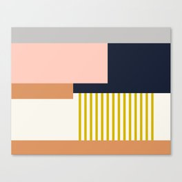 Sol Abstract Geometric Print in Multi Canvas Print