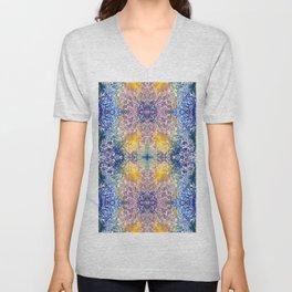 Colorful Crystal Unisex V-Neck