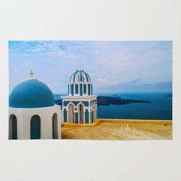 Church with a view Rug