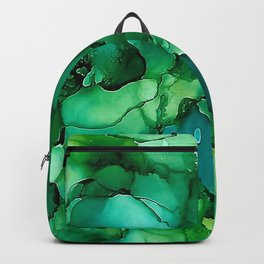 Into the Depths of Sea Green Mysteries Backpack
