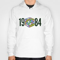 1984 Hoodies featuring 1984  by CaptClare