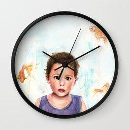 Piscine Wall Clock