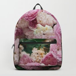 The smallest pink roses Backpack