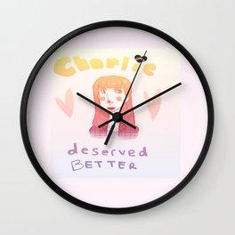 charlie deserved better Wall Clock