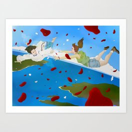 Of Puzzles and Goodbyes Art Print