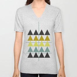 disguise forest    spring neon Unisex V-Neck