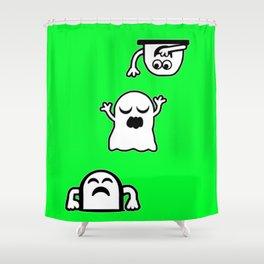 Peek-A-Boos Shower Curtain