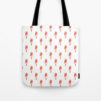 popsicle Tote Bags featuring Popsicle by Hello Sleepywhale