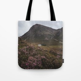 The moorland house - Landscape and Nature Photography Tote Bag