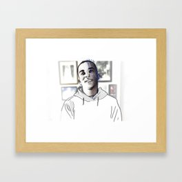 Stephon Clark • Forever Young Framed Art Print