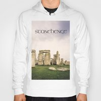 matty healy Hoodies featuring Stonehenge by Solar Designs