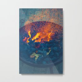 Light My Fire Metal Print