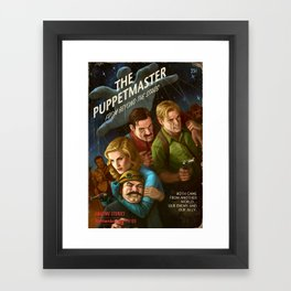 The PuppetMaster Framed Art Print