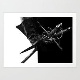 Rapier and Dagger Art Print