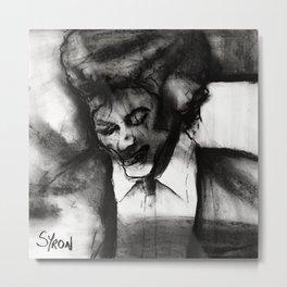 MJ Metal Print
